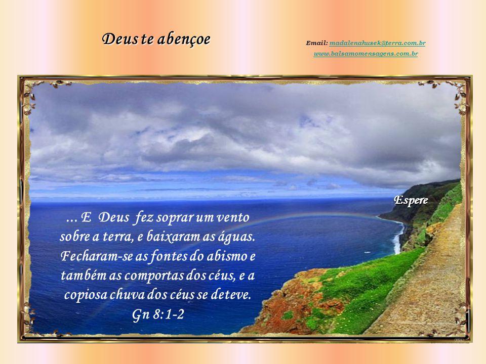 Esse é o sinal da aliança que estabeleci entre mim e toda forma de vida que há sobre a terra. Gn 9: 12-17
