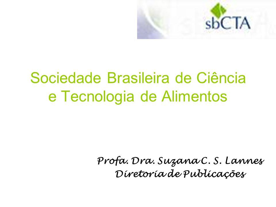 sbCTA - Sociedade Brasileira de Ciência e Tecnologia de Alimentos Av.