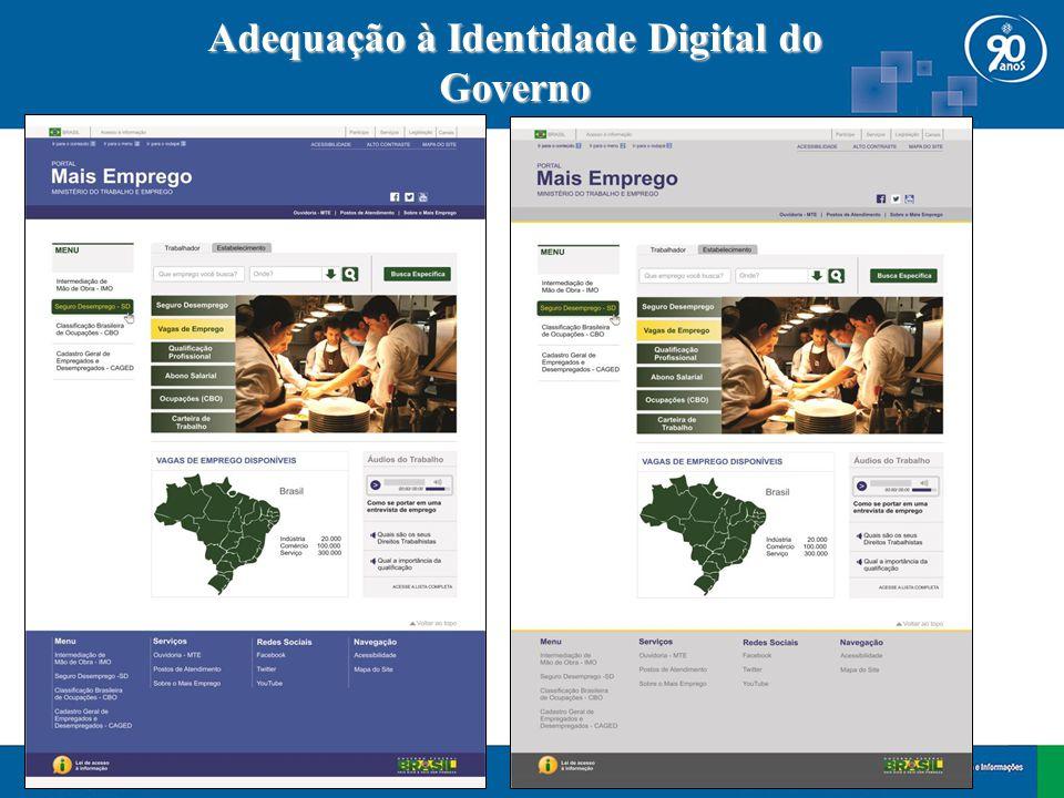 Adequação à Identidade Digital do Governo