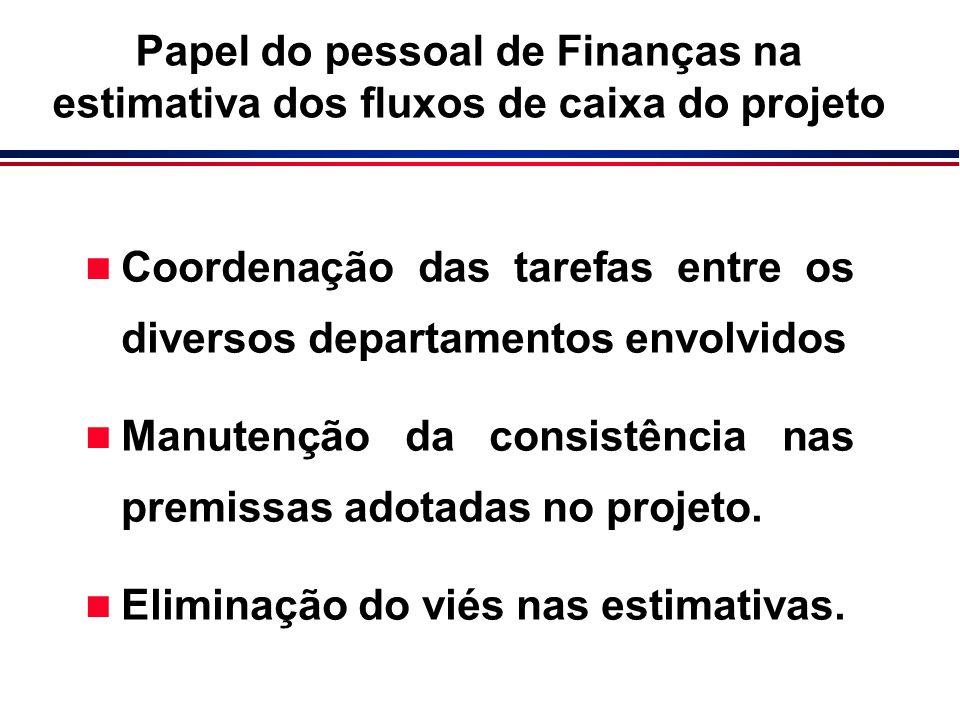 n Coordenação das tarefas entre os diversos departamentos envolvidos n Manutenção da consistência nas premissas adotadas no projeto. n Eliminação do v