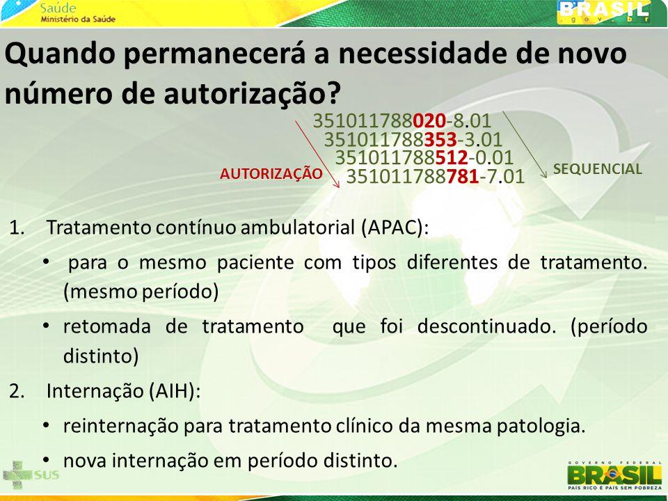 351011788020-8.01 351011788353-3.01 351011788512-0.01 351011788781-7.01 AUTORIZAÇÃO SEQUENCIAL Quando permanecerá a necessidade de novo número de autorização.