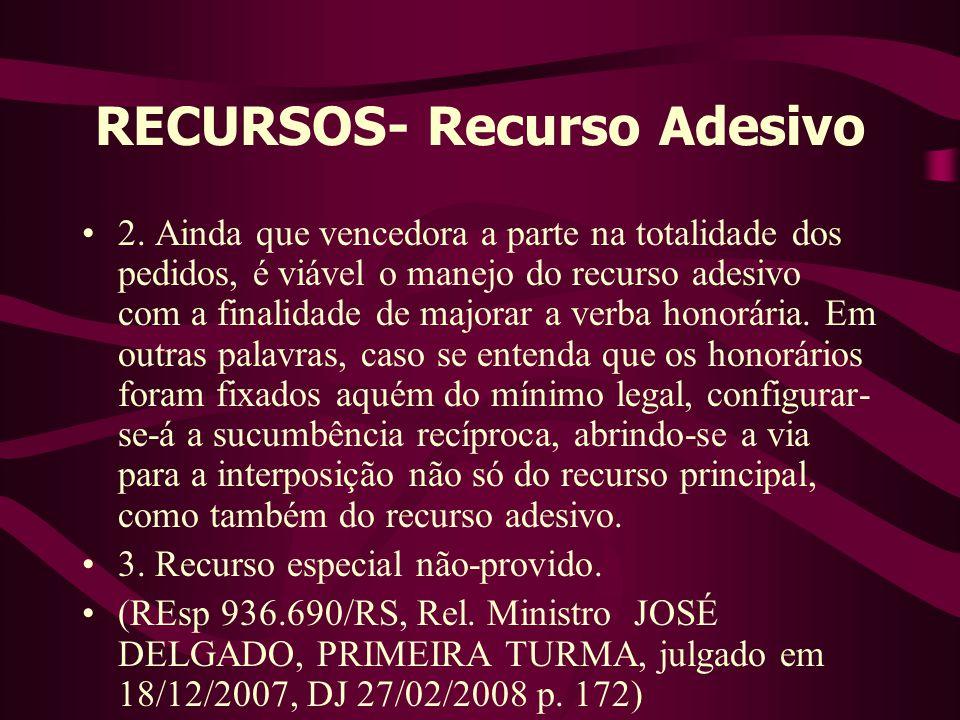 RECURSOS- Recurso Adesivo •2.