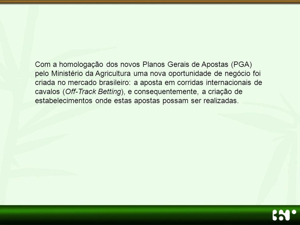 Com a homologação dos novos Planos Gerais de Apostas (PGA) pelo Ministério da Agricultura uma nova oportunidade de negócio foi criada no mercado brasi