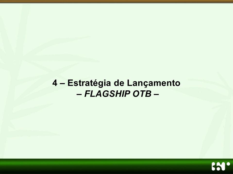 4 – Estratégia de Lançamento – FLAGSHIP OTB –