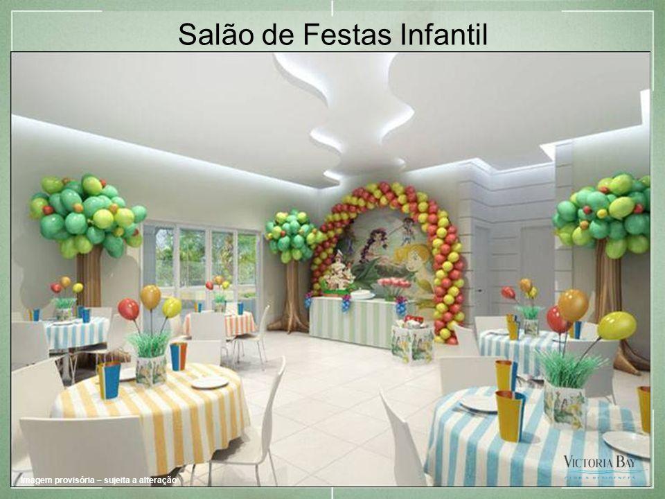 Salão de Festas Infantil Imagem provisória – sujeita a alteração