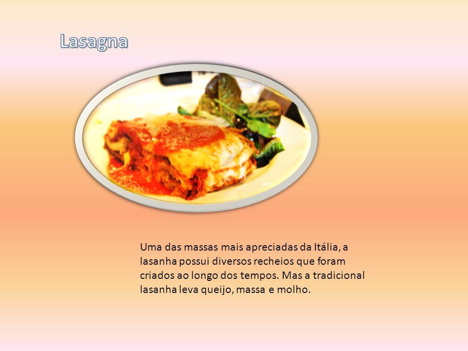Uma das massas mais apreciadas da Itália, a lasanha possui diversos recheios que foram criados ao longo dos tempos. Mas a tradicional lasanha leva que