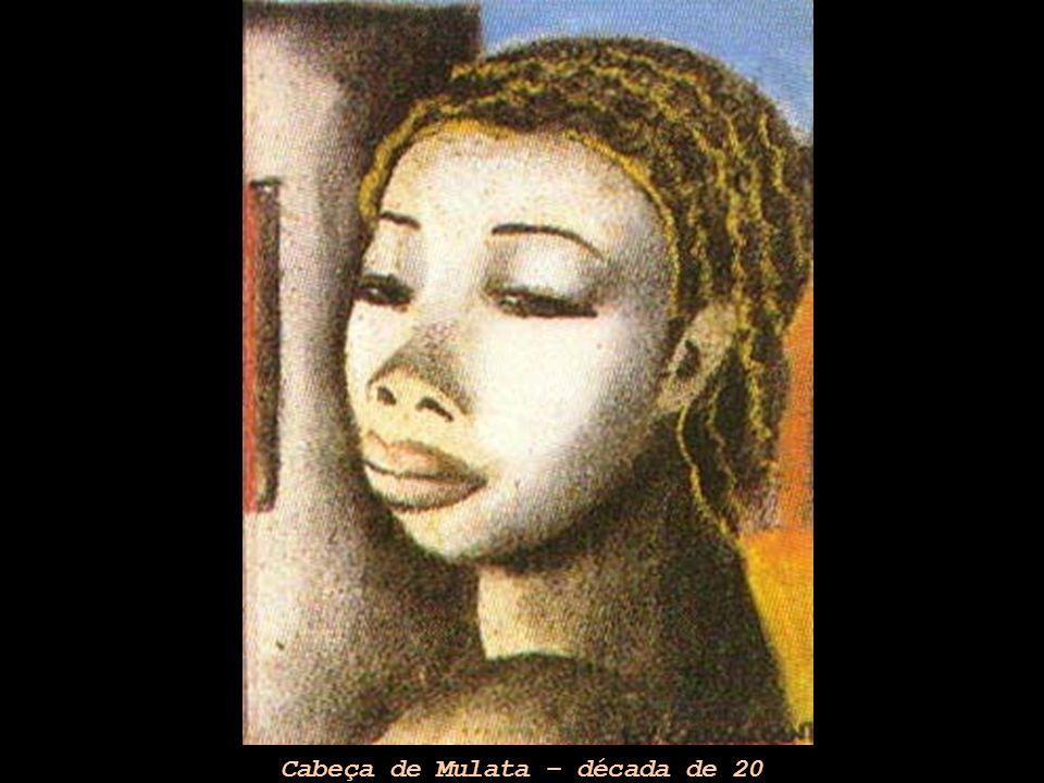Cabeça de Mulata – década de 20