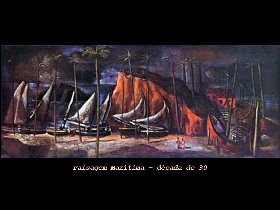 Paisagem Marítima – década de 30