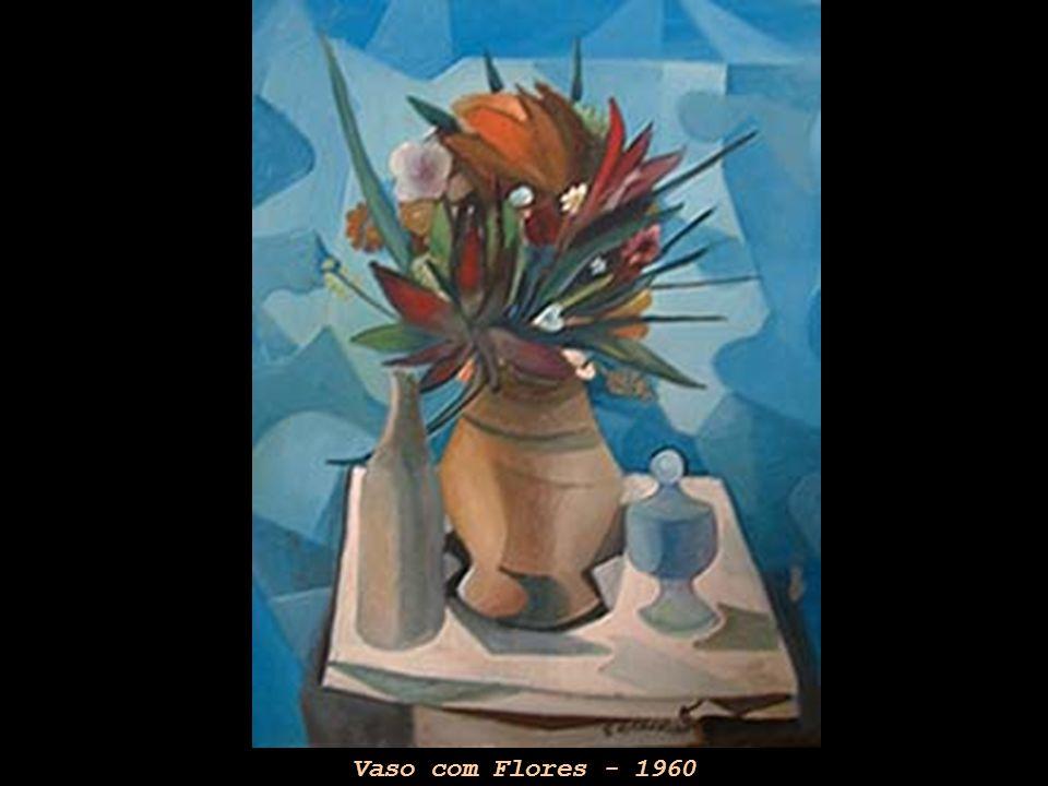 Vaso com Flores - 1960