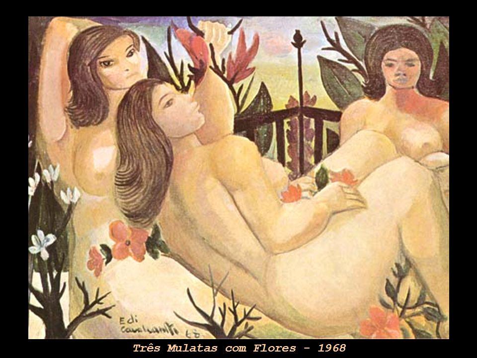 Três Mulatas com Flores - 1968