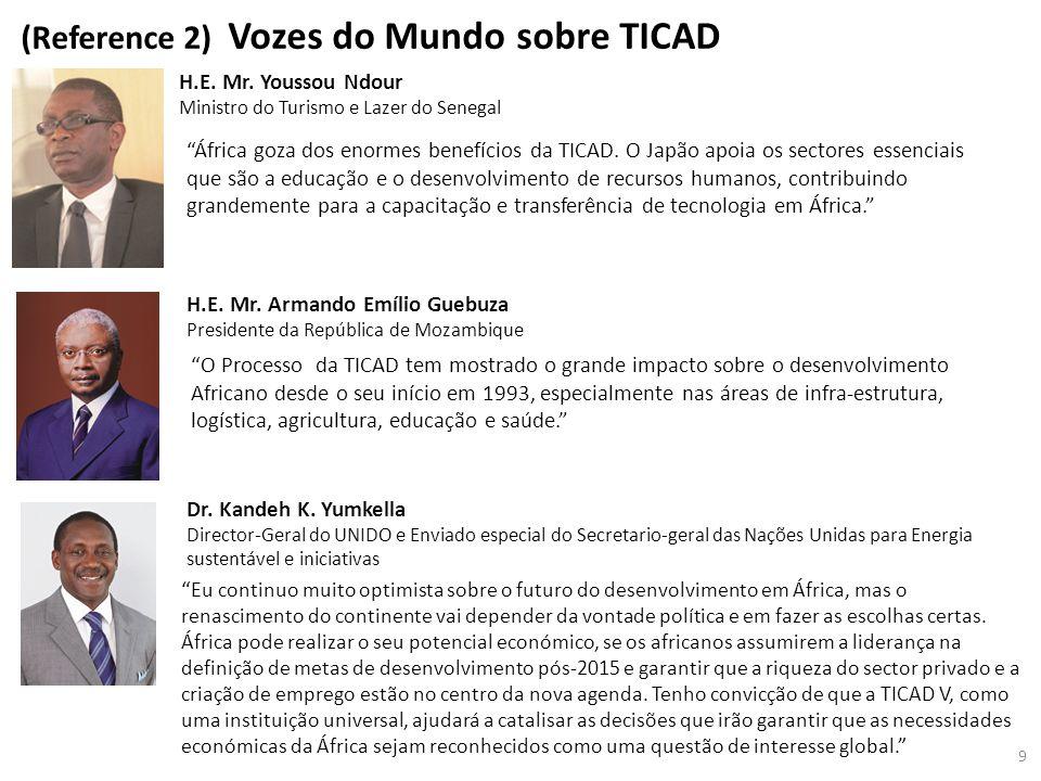 (Reference 2) Vozes do Mundo sobre TICAD H.E.Mr.