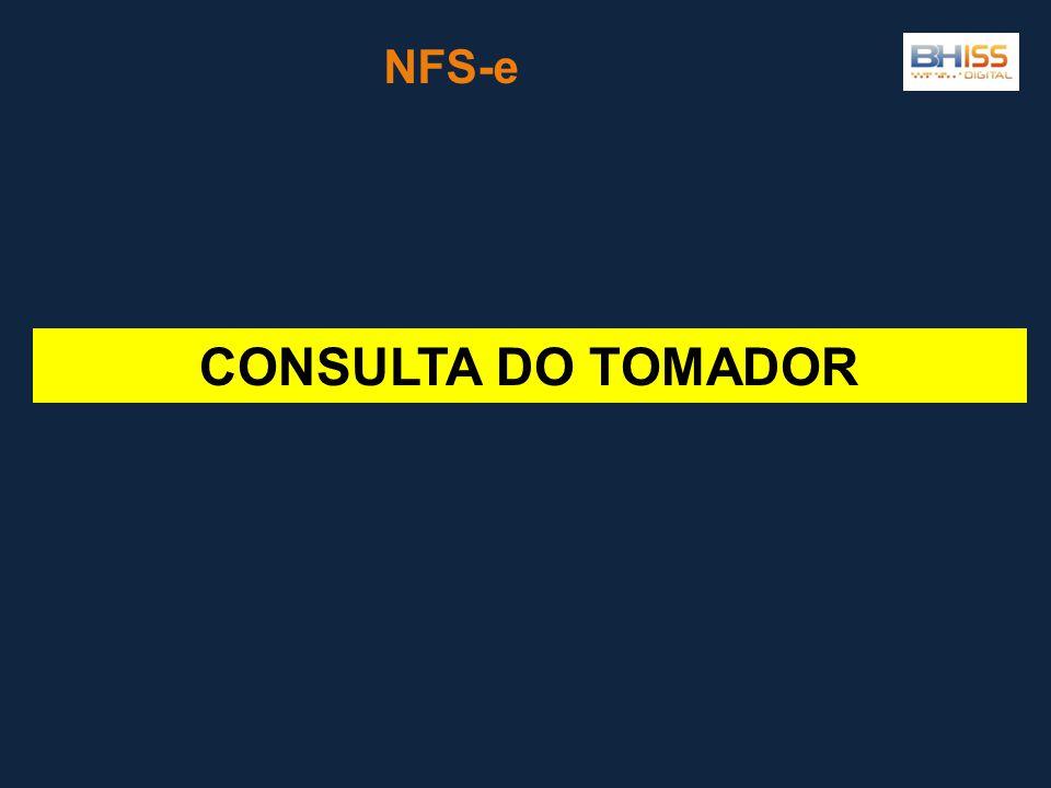CONSULTA DO TOMADOR NFS-e