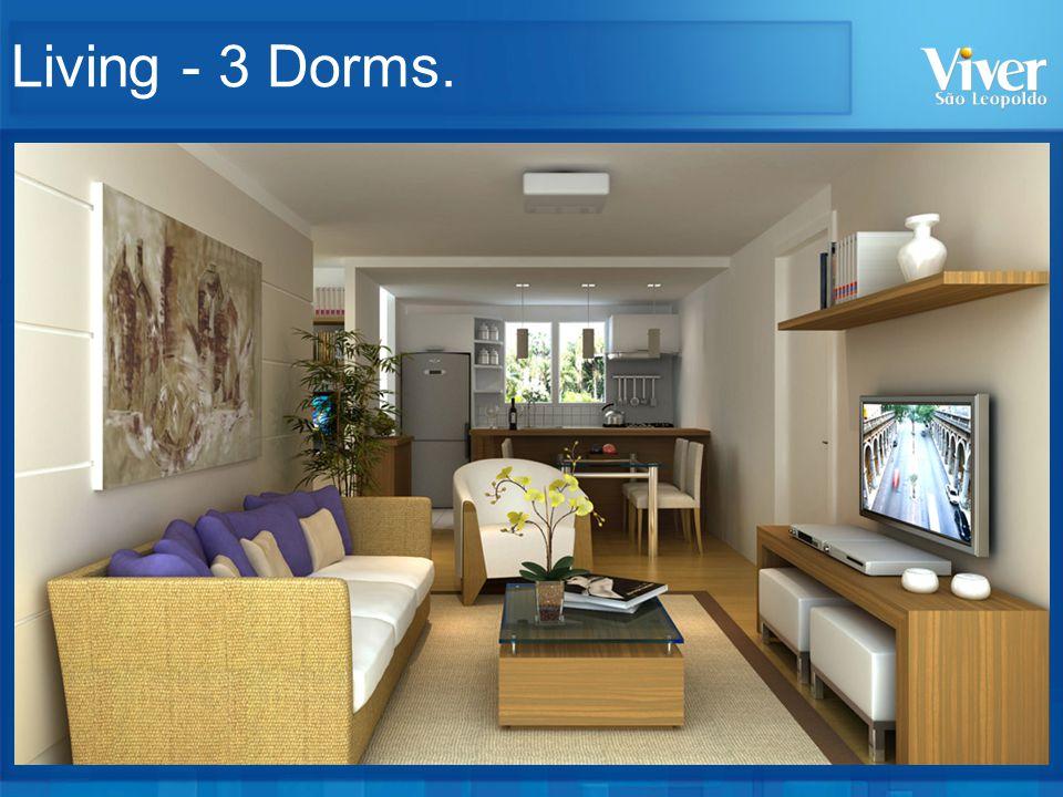 Living - 3 Dorms.