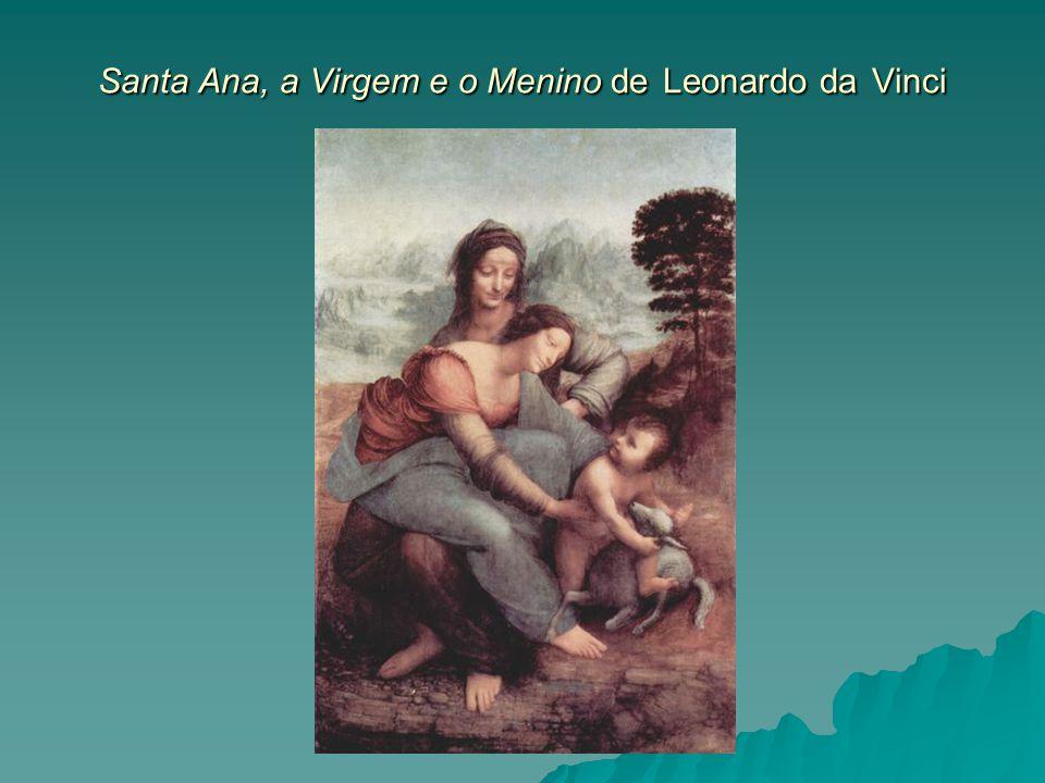 Santa Ana, a Virgem e o Menino de Leonardo da Vinci