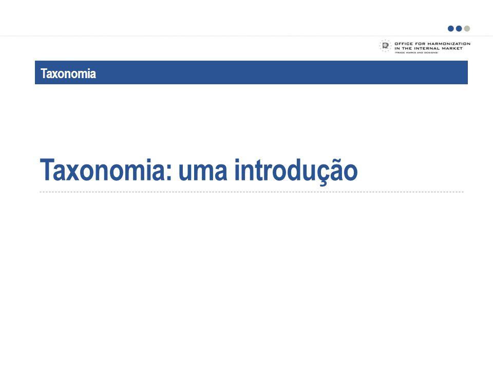 Taxonomia: uma introdução Taxonomia