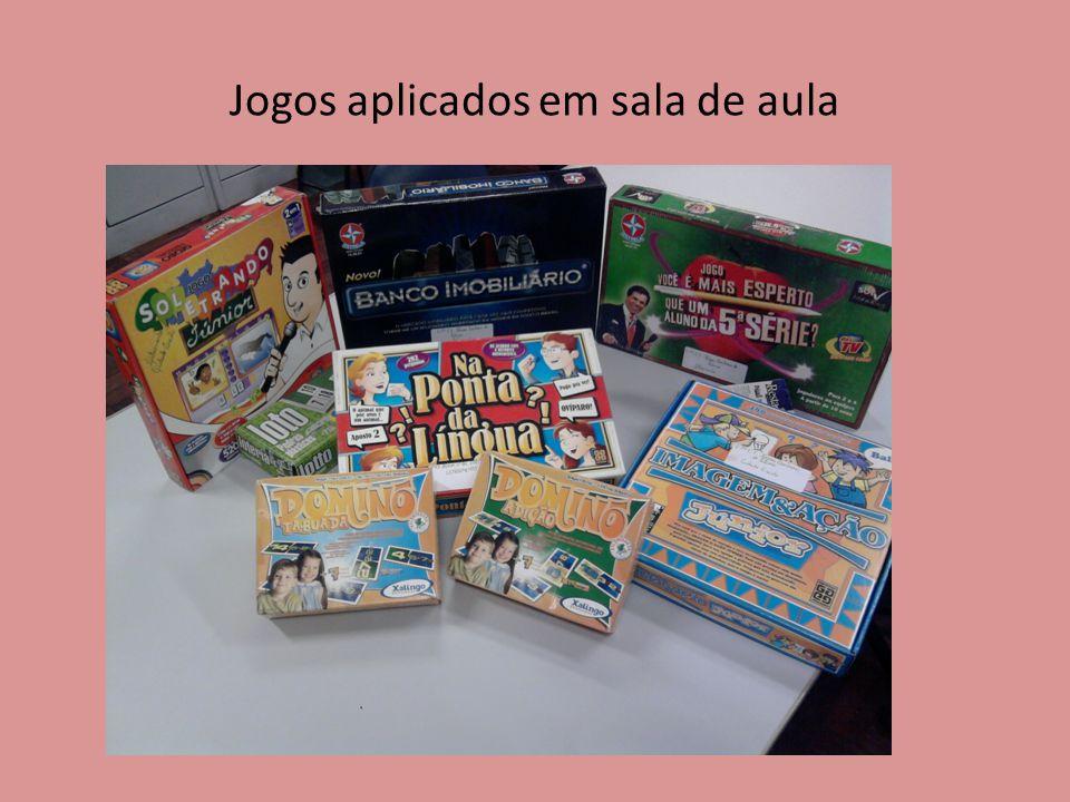 Jogos aplicados em sala de aula