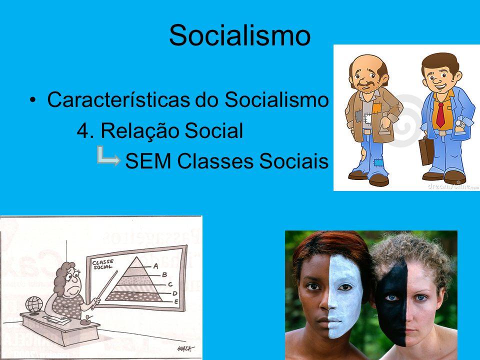 Socialismo •Características do Socialismo 3. Pleno Emprego Todos tem emprego