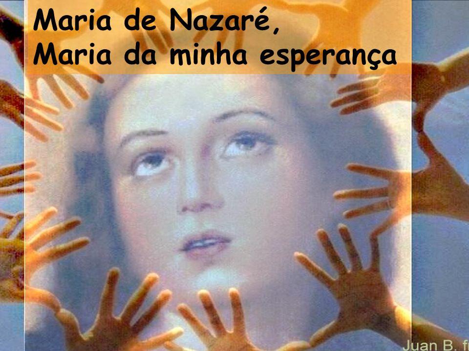 O teu nome, Virgem da alma