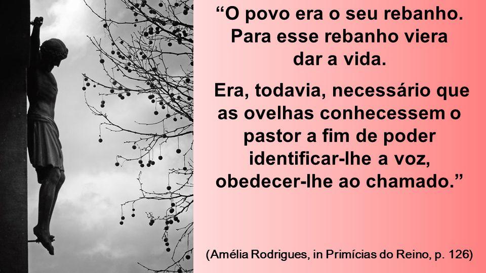 Experimentava, porém ultriz sofrimento, porque o povo não O compreendia: o sofrimento que decorre do amor desdenhado. (Amélia Rodrigues, in Primícias do Reino, p.