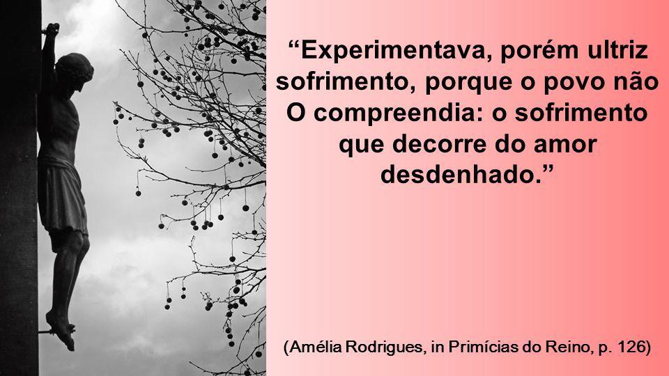 """""""Experimentava, porém ultriz sofrimento, porque o povo não O compreendia: o sofrimento que decorre do amor desdenhado."""" (Amélia Rodrigues, in Primícia"""