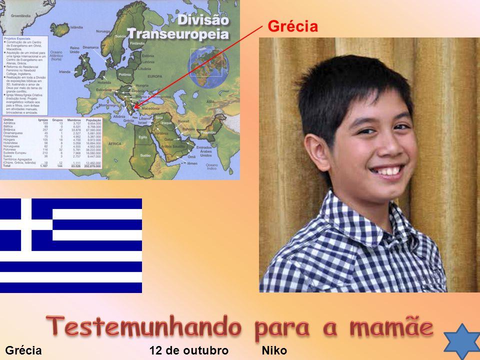 Grécia 12 de outubro Niko Grécia