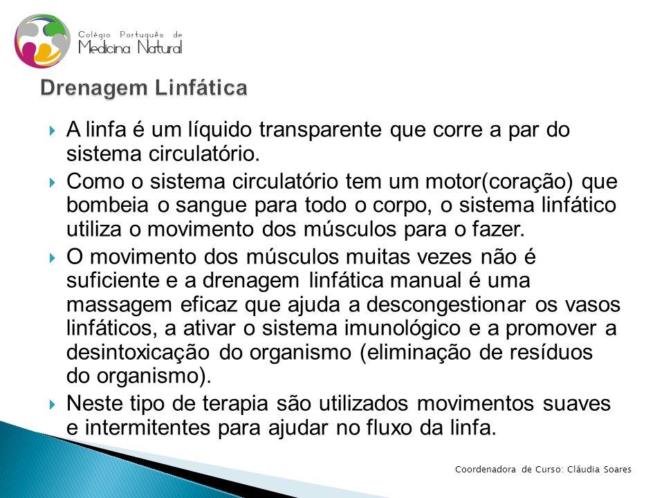  A linfa é um líquido transparente que corre a par do sistema circulatório.  Como o sistema circulatório tem um motor(coração) que bombeia o sangue