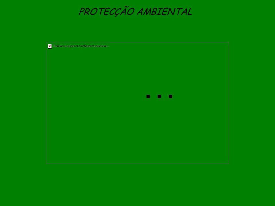 PROTECÇÃO AMBIENTAL …