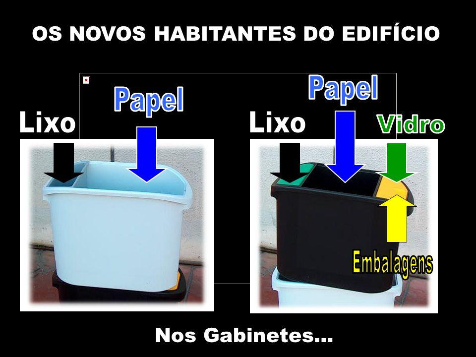 OS NOVOS HABITANTES DO EDIFÍCIO Nos Gabinetes…
