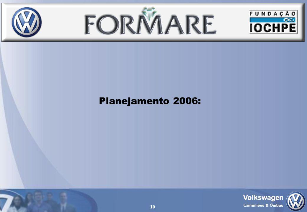 Volkswagen Caminhões & Ônibus 10 Planejamento 2006: