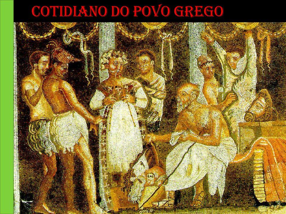 Cotidiano do povo Grego