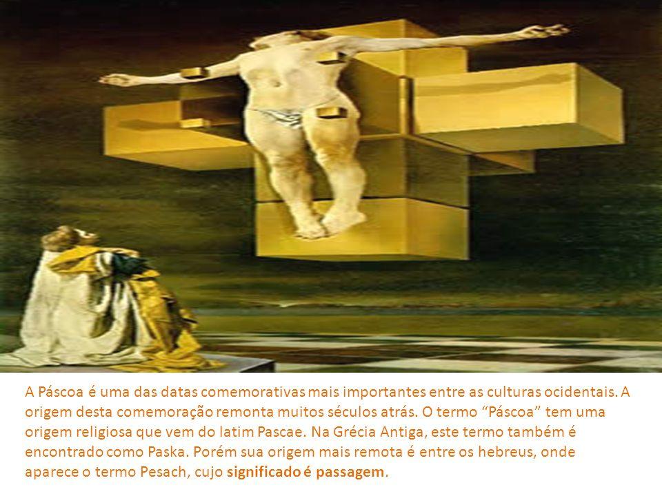 A Bíblia judaica institui a celebração da Páscoa em Êxodo 12, 14: Conservareis a memória daquele dia, celebrando-o como uma festa em honra do Senhor: Fareis isto de geração em geração, pois é uma instituição perpétua.
