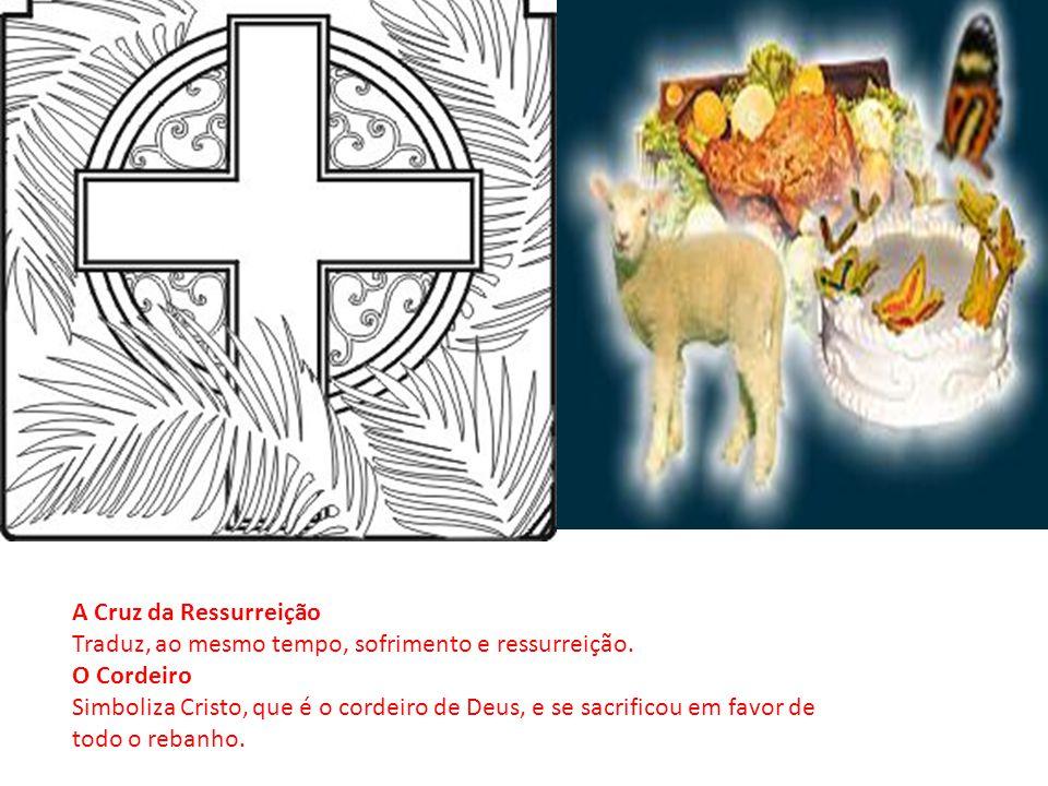 O Ovo de Páscoa A existência da vida está intimamente ligada ao ovo, que simboliza o nascimento.