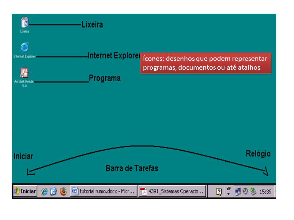 Os principais São: Disco Rígido (HD) – onde ficam armazenados os arquivos de Sistema.