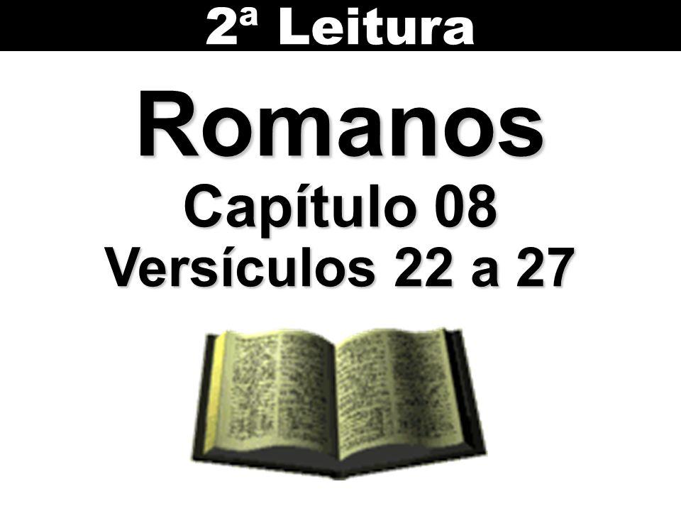 Romanos Capítulo 08 Versículos 22 a 27 2ª Leitura