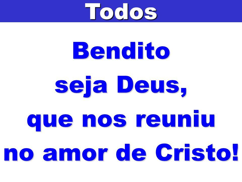 com os santos Apóstolos e todos os que neste mundo vos serviram, a fim de vos louvarmos e glorificarmos, por Jesus Cristo, vosso Filho.