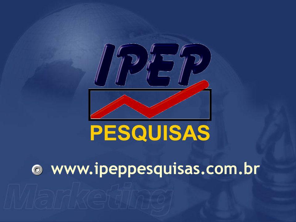 PESQUISAS www.ipeppesquisas.com.br