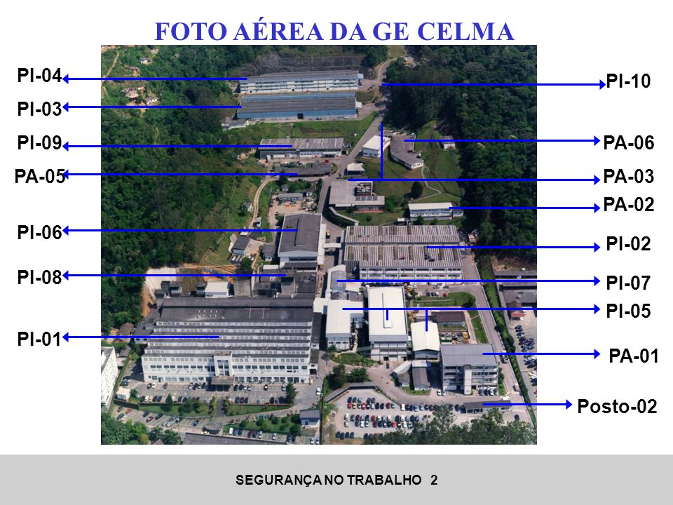 SEGURANÇA NO TRABALHO 33 Os 7 elementos do E-Framework e seus principais objetivos são: ELEMENTO 01 – AR Controlar os poluentes emitidos no ar, para garantir o cumprimento das exigências impostas por órgãos ambientais, requisitos e diretrizes da empresa.
