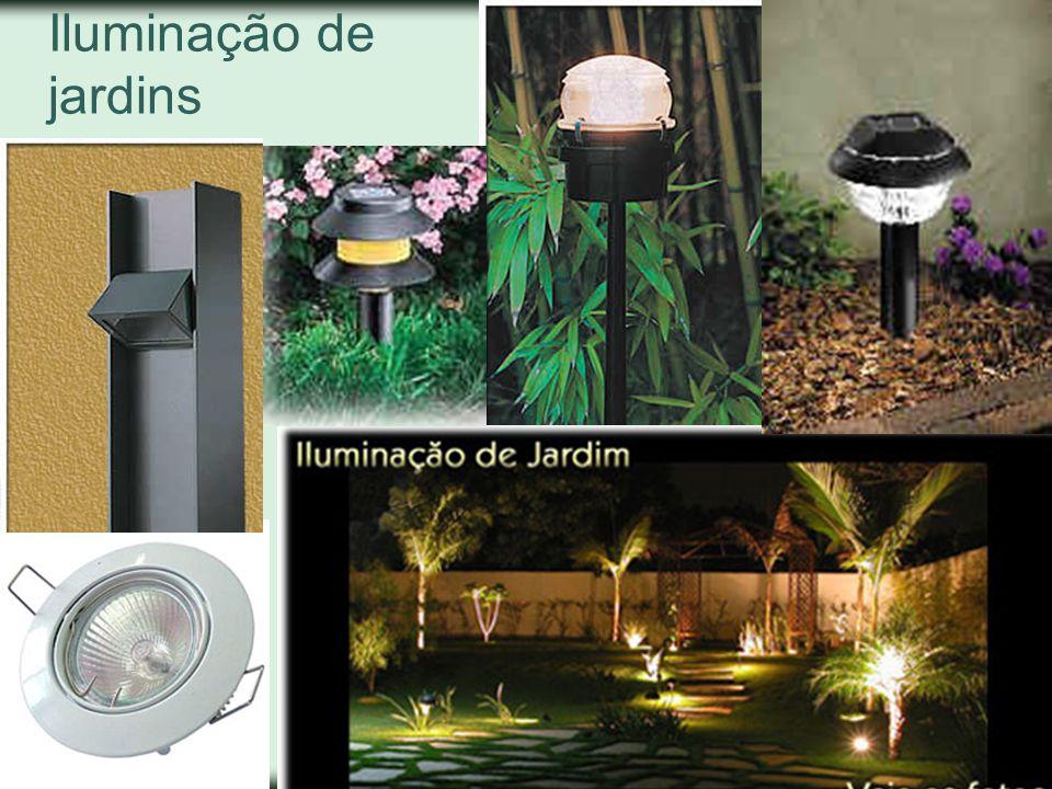 Iluminação de jardins