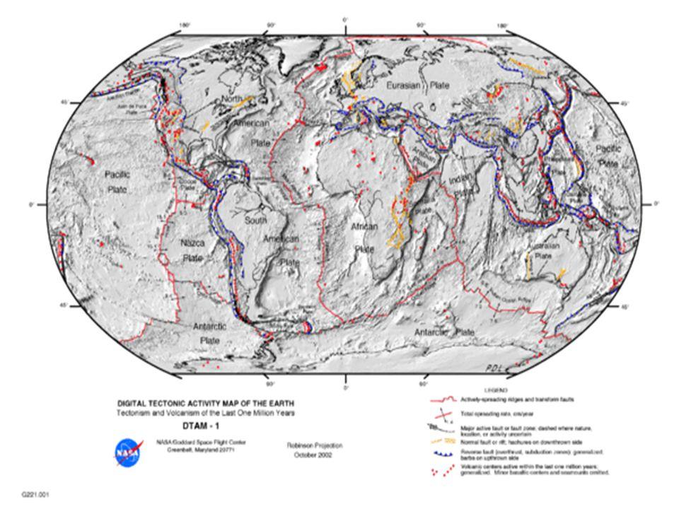  A Falha de Santo André é uma falha geológica tangencial que se prolonga ao longo de cerca de 1290 km através da Califórnia.