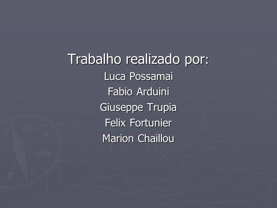 Trabalho realizado por : Luca Possamai Fabio Arduini Giuseppe Trupia Felix Fortunier Marion Chaillou
