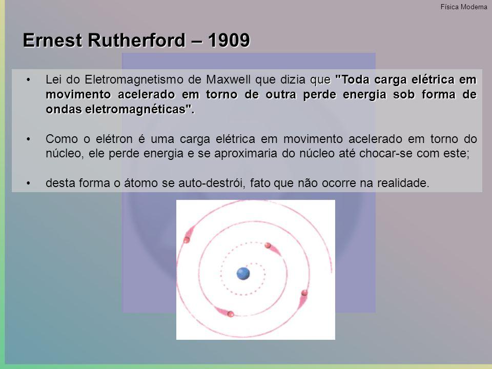 •Com bases nas suas observações foi possível notar que existiriam espaços vazios entre os átomos, por onde estava passando a radiação.