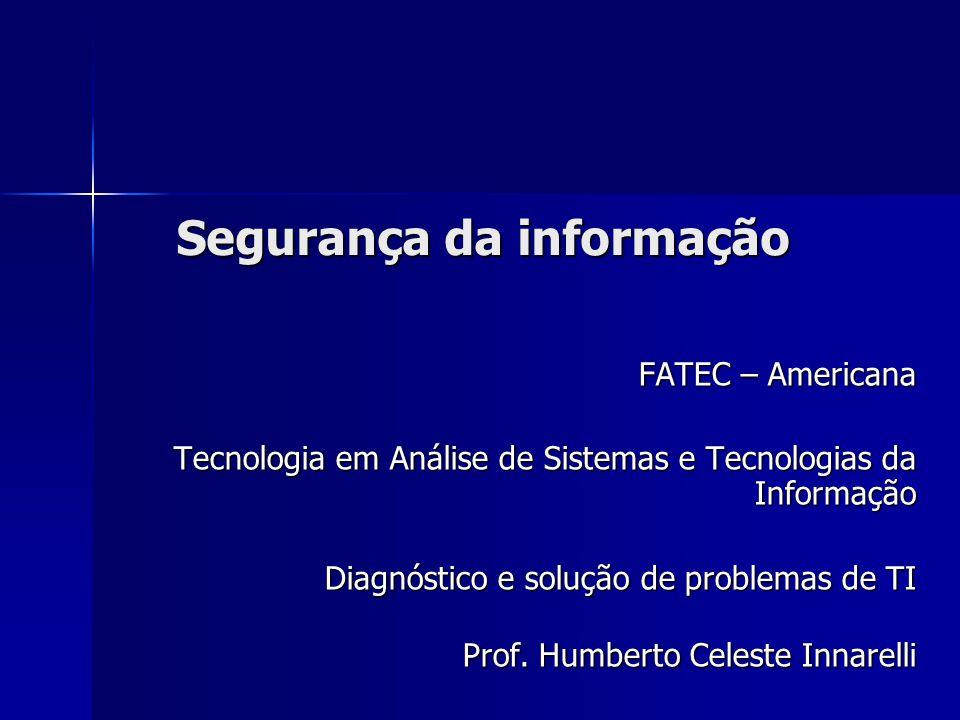 março/2009 Segurança da informação 2 Conteúdo  Introdução  Segurança da Informação  Barreiras de segurança  Exemplos  Conclusão  Bibliografia