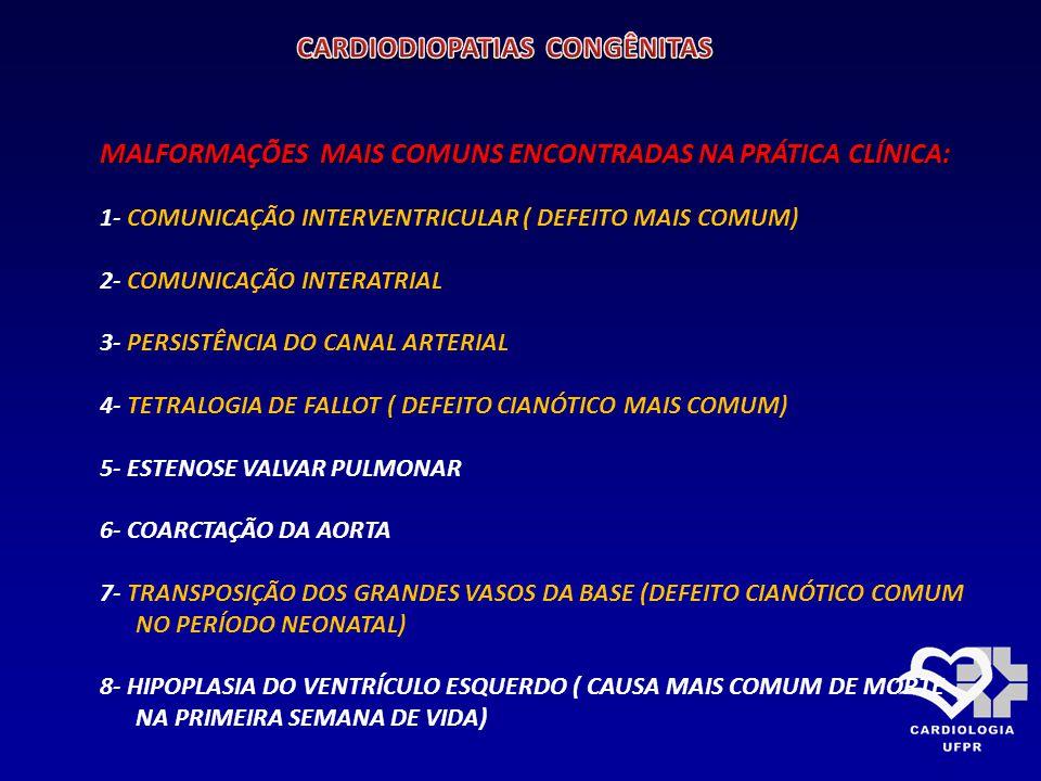COMUNICAÇÃO INTERVENTRICULAR: COMUNICAÇÃO INTERVENTRICULAR: TIPOS
