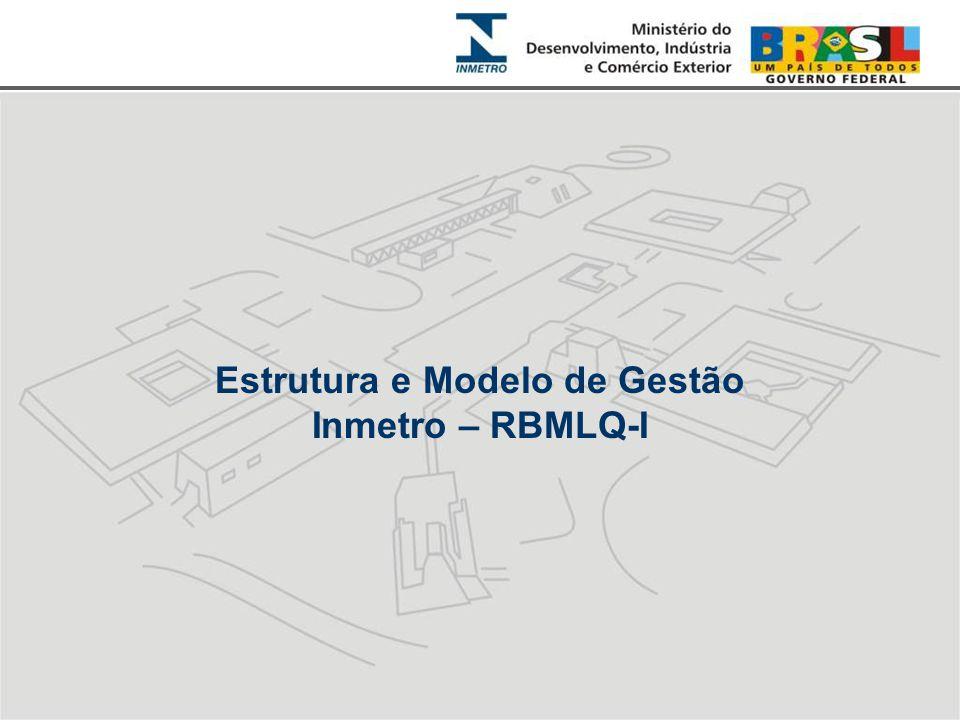 Estrutura e Modelo de Gestão Inmetro – RBMLQ-I