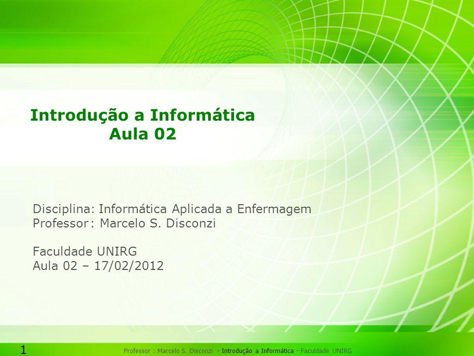 1 Professor : Marcelo S.