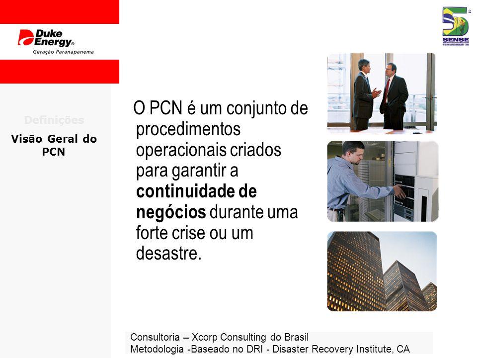 O PCN é um conjunto de procedimentos operacionais criados para garantir a continuidade de negócios durante uma forte crise ou um desastre.