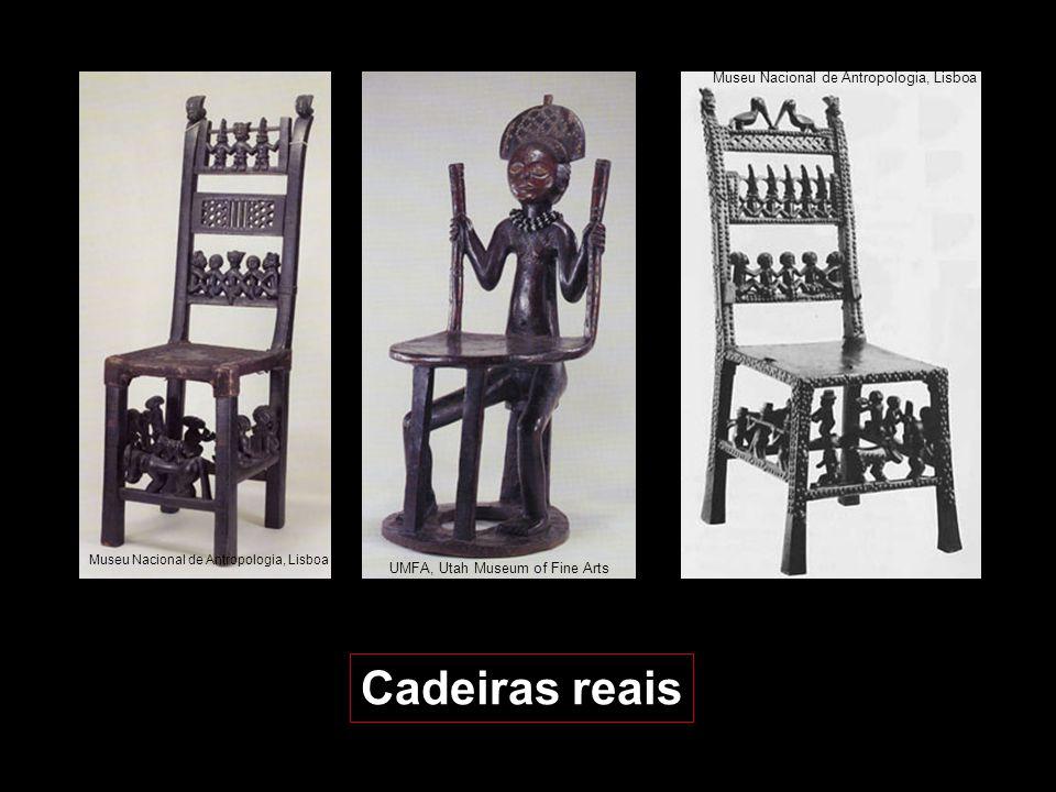 No séc. XVII os Chokwe adoptaram a cadeira portuguesa e aplicaram-lhe os seus motivos decorativos que ilustram variadíssimos aspectos culturais, tais