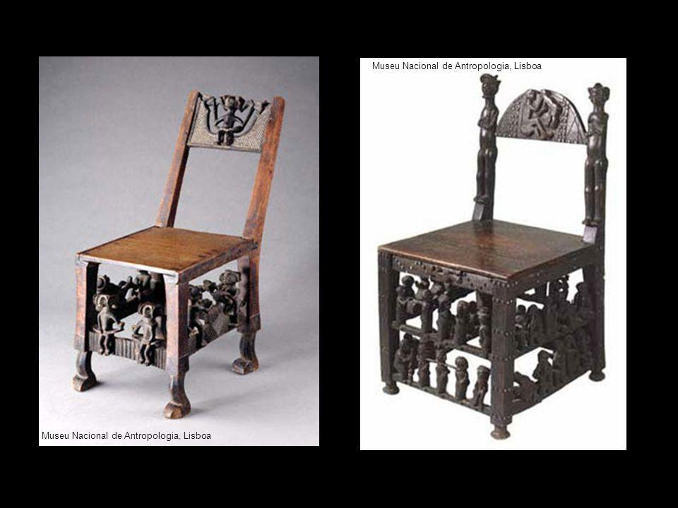 Cadeiras reais UMFA, Utah Museum of Fine Arts Museu Nacional de Antropologia, Lisboa