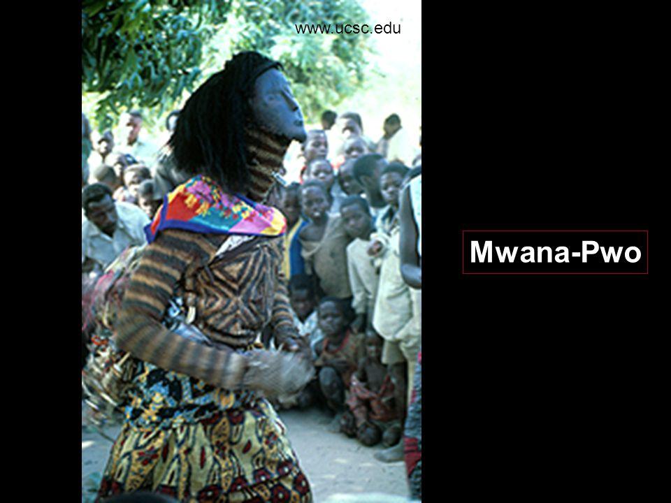 Mwana- Pwo www.randafricanart.com/Chokwe_Pwo_masks.html