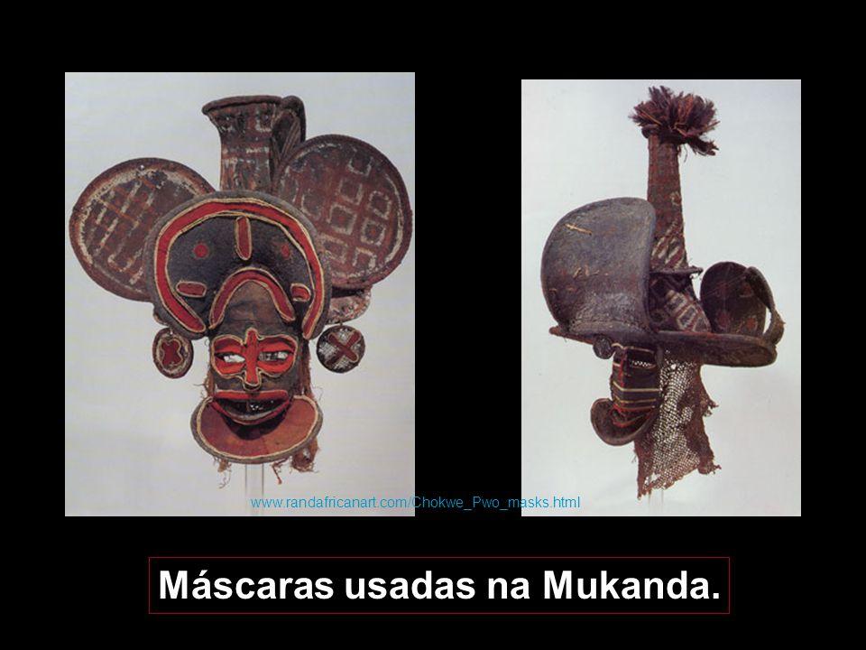 Máscara-Kalelwa Ritual Kalelwa Lino Buambua